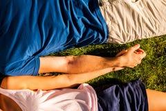 αίσθημα ευτυχές από κοιν&omic Στοκ Εικόνα