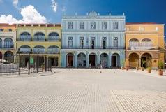 Αβάνα, Κούβα - 29 Νοεμβρίου 2017: Plaza Vieja σε Habana Vieja Στοκ εικόνες με δικαίωμα ελεύθερης χρήσης