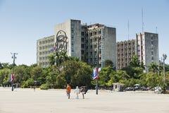 Αβάνα τετράγωνο επαναστάσεων εικόνων της Αβάνας guevara της Κούβας Φεβρουάριος κτηρίου 24 2009 che Στοκ εικόνες με δικαίωμα ελεύθερης χρήσης