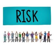 Αβέβαιη έννοια τυχερού παιχνιδιού κινδύνου κινδύνου επικίνδυνη Στοκ εικόνα με δικαίωμα ελεύθερης χρήσης