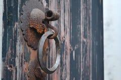 λαβή πορτών παλαιά Στοκ φωτογραφία με δικαίωμα ελεύθερης χρήσης