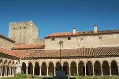 Αβαείο Αγίου Mary στην τεχνολογία Arles sur, νότος της Γαλλίας Στοκ φωτογραφία με δικαίωμα ελεύθερης χρήσης
