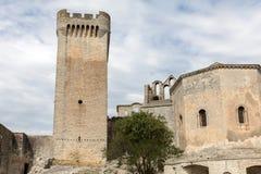 Αβαείο του ST Peter σε Montmajour κοντά σε Arles, Στοκ εικόνα με δικαίωμα ελεύθερης χρήσης