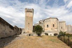 Αβαείο του ST Peter σε Montmajour κοντά σε Arles, Στοκ Εικόνες