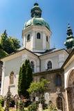 Αβαείο του ST Peters στο Σάλτζμπουργκ στοκ φωτογραφία