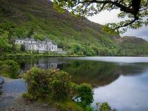 Αβαείο Castle Galway Kylemore Στοκ φωτογραφία με δικαίωμα ελεύθερης χρήσης