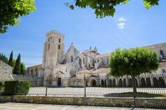 Αβαείο Huelgas Las κοντά στο Burgos στην Ισπανία Στοκ Εικόνα