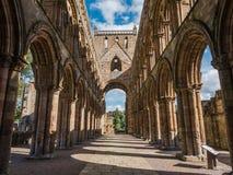 Αβαείο Jedburgh, Σκωτία Στοκ φωτογραφία με δικαίωμα ελεύθερης χρήσης