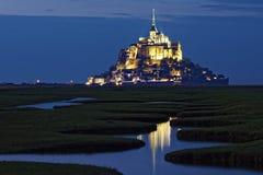 αβαείο Michel mont Άγιος Στοκ Φωτογραφίες