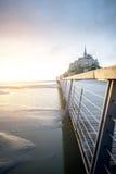 αβαείο Michel mont Άγιος Στοκ εικόνες με δικαίωμα ελεύθερης χρήσης
