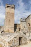Αβαείο Montmajour κοντά σε Arles, Γαλλία Στοκ Φωτογραφίες