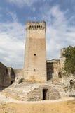 Αβαείο Montmajour κοντά σε Arles Προβηγκία Γαλλία Στοκ Εικόνα