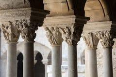 Αβαείο Montmajour κοντά σε Arles Προβηγκία Γαλλία Στοκ εικόνα με δικαίωμα ελεύθερης χρήσης