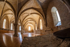 Αβαείο Poblet στην Ισπανία Στοκ εικόνα με δικαίωμα ελεύθερης χρήσης