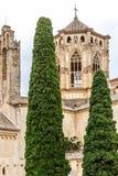 Αβαείο Poblet στην Ισπανία Στοκ εικόνες με δικαίωμα ελεύθερης χρήσης