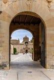 Αβαείο Poblet στην Ισπανία Στοκ Εικόνα