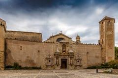 Αβαείο Poblet στην Ισπανία Στοκ Φωτογραφίες