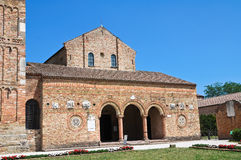 Αβαείο Pomposa. Codigoro. Αιμιλία-Ρωμανία. Ιταλία. Στοκ Φωτογραφία