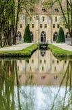 Αβαείο Royaumont έξω από την άποψη, Γαλλία Στοκ Φωτογραφία