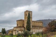 Αβαείο Sant Antimo, Ιταλία Στοκ Εικόνες