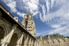 Αβαείο ST-Jean Vignes σε Soissons Στοκ φωτογραφία με δικαίωμα ελεύθερης χρήσης