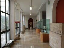 Αβελλίνο - τμήμα του Mefite στο μουσείο Irpino στοκ εικόνες