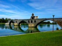 Αβινιόν - Γαλλία - Pont Άγιος-Bénézet Στοκ Φωτογραφίες
