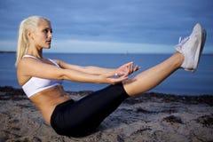 Αβ workout Στοκ εικόνα με δικαίωμα ελεύθερης χρήσης