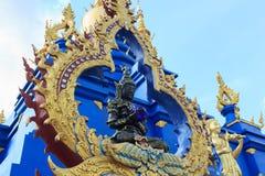 Αγάλματα αγγέλου στη μυθιστοριογραφία στους ναούς στοκ εικόνα