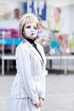 αγάλματα διαβίωσης mimes Στοκ φωτογραφίες με δικαίωμα ελεύθερης χρήσης
