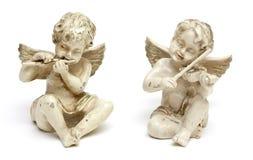 αγάλματα δύο αγγέλου Στοκ Φωτογραφίες