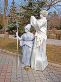αγάλματα Ουκρανία διαβί&omega Στοκ φωτογραφίες με δικαίωμα ελεύθερης χρήσης