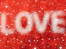 Αγάπης αφηρημένες ζωηρόχρωμες θαμπάδες καρδιών υποβάθρου λαμπρές Στοκ φωτογραφία με δικαίωμα ελεύθερης χρήσης