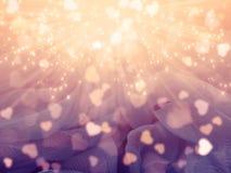 Αγάπης αφηρημένες ζωηρόχρωμες θαμπάδες καρδιών υποβάθρου λαμπρές Στοκ εικόνες με δικαίωμα ελεύθερης χρήσης