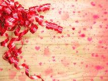 Αγάπης αφηρημένες ζωηρόχρωμες θαμπάδες καρδιών υποβάθρου λαμπρές Στοκ Φωτογραφία