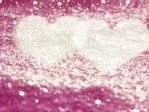 Αγάπης αφηρημένες ζωηρόχρωμες θαμπάδες καρδιών υποβάθρου λαμπρές Στοκ Εικόνες