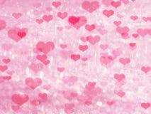 Αγάπης αφηρημένες ζωηρόχρωμες θαμπάδες καρδιών υποβάθρου λαμπρές Στοκ φωτογραφίες με δικαίωμα ελεύθερης χρήσης