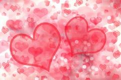 Αγάπης αφηρημένες ζωηρόχρωμες θαμπάδες αστεριών υποβάθρου λαμπρές ελεύθερη απεικόνιση δικαιώματος