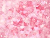 Αγάπης αφηρημένες ζωηρόχρωμες θαμπάδες αστεριών υποβάθρου λαμπρές Στοκ φωτογραφίες με δικαίωμα ελεύθερης χρήσης