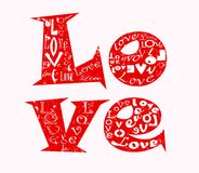 αγάπη έννοιας απεικόνιση αποθεμάτων