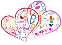 αγάπη έννοιας διανυσματική απεικόνιση