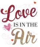 αγάπη αέρα διανυσματική απεικόνιση