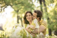 αγάπη αέρα couple nature στοκ εικόνες με δικαίωμα ελεύθερης χρήσης