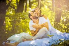 αγάπη αέρα couple nature στοκ εικόνα με δικαίωμα ελεύθερης χρήσης