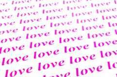 Αγάπη αγάπης αγάπης Στοκ Φωτογραφίες