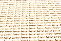 Αγάπη αγάπης αγάπης Στοκ Εικόνες
