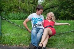 Αγάπη, αγόρι και κορίτσι Στοκ εικόνα με δικαίωμα ελεύθερης χρήσης