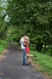 Αγάπη, αγόρι και κορίτσι Στοκ Εικόνα