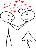 Αγάπη αριθμού ραβδιών Στοκ εικόνες με δικαίωμα ελεύθερης χρήσης