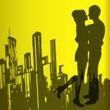 αγάπη αστική ελεύθερη απεικόνιση δικαιώματος
